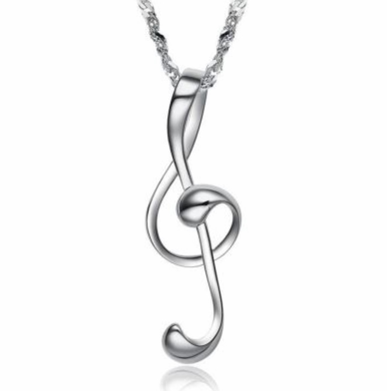 Musical note pendant the gilded piano store musical note pendant aloadofball Choice Image